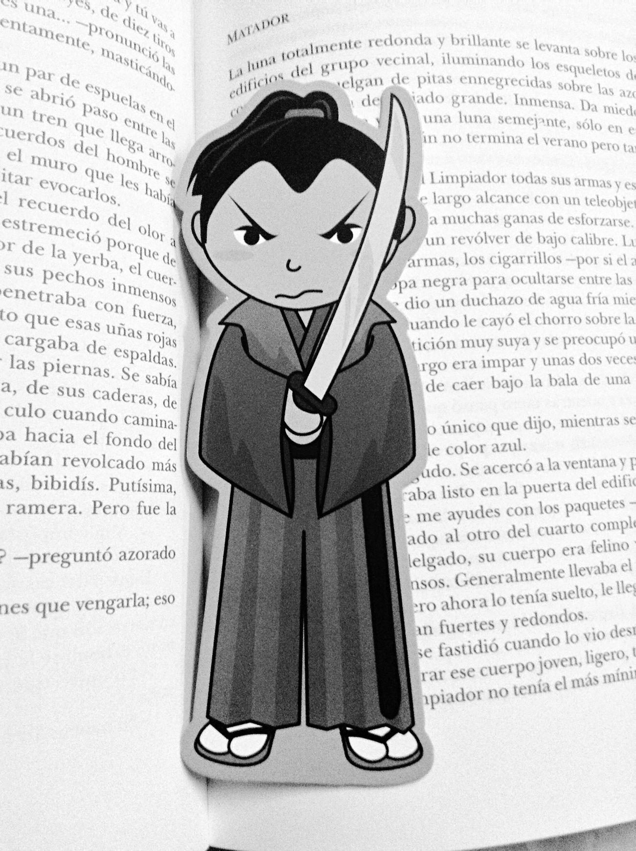 Samurai Bookmark Marcapaginas Marcador De Pagina Señalador Reading Blancoynegro Blackandwhite
