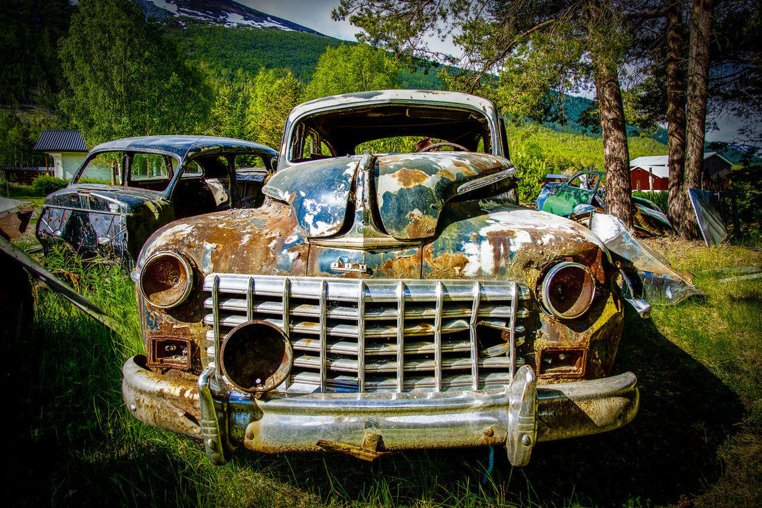 Rust never sleeps Car Car Wreck Cars Classic Car Classic Cars Damaged Mode Of Transport No People Old Oldtimer Outdoors Rotten Run-down Rust Rusty Time Timegoesby Vintage Vintage Cars Wreck