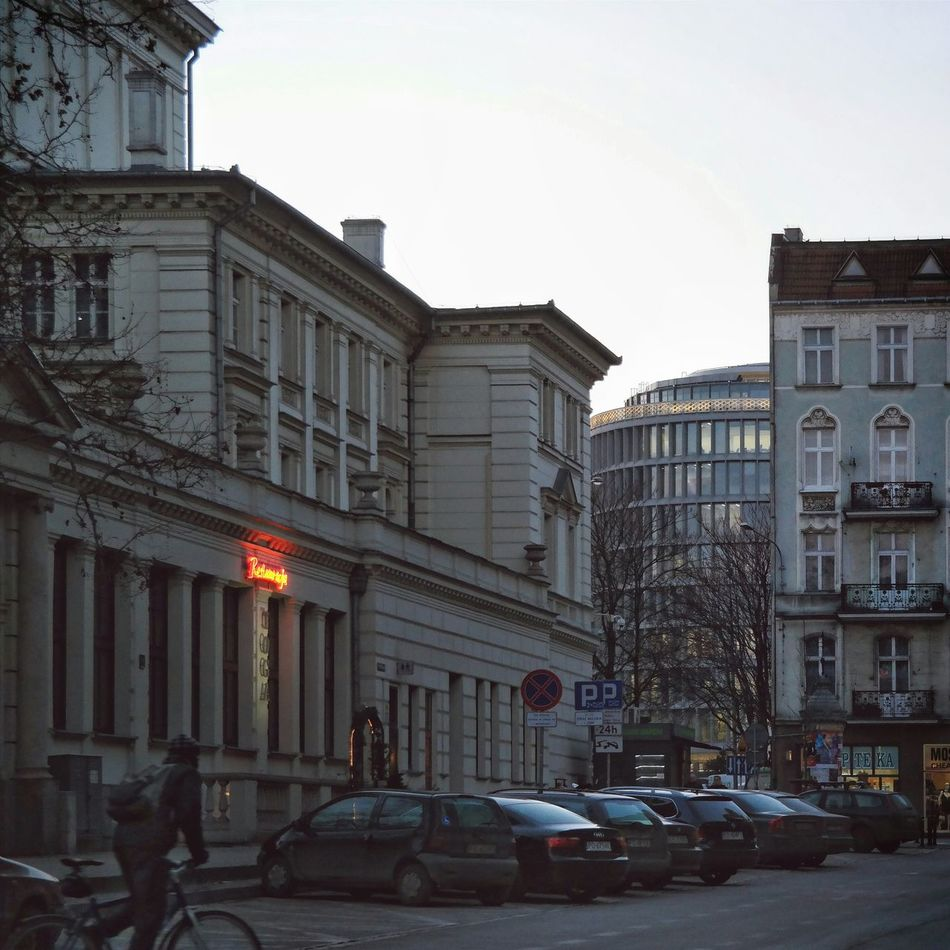 City Street Photography Dusk