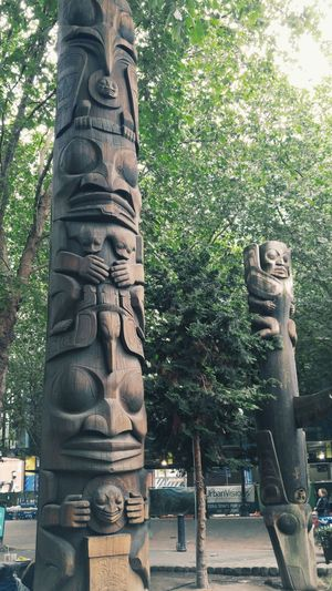 Seattle Totem Pole Pnwcollective Native American Art Public Places Washington State Popular Sights Seattlephotographer SeattleLife