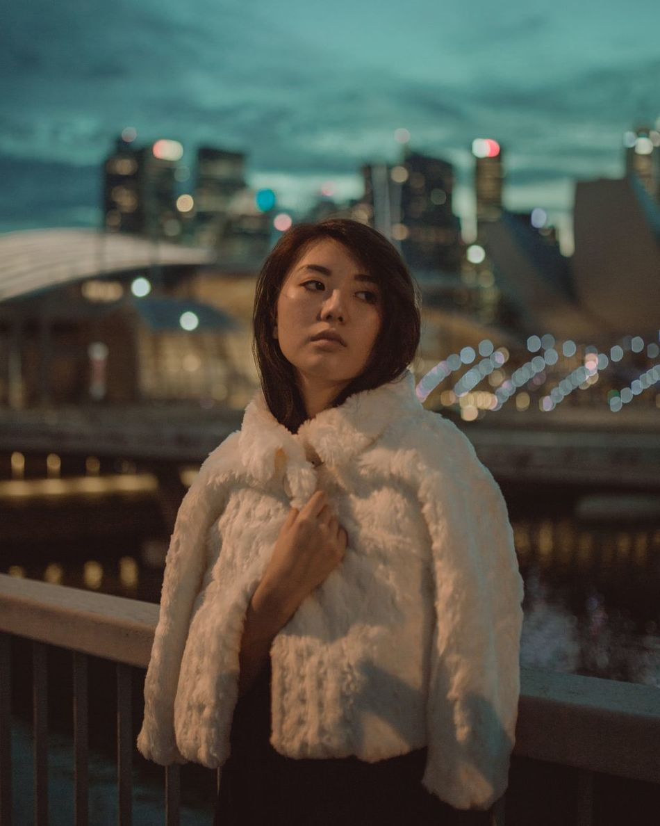 ruby blue Portrait City Life City Beautiful People Urban Skyline Cityscape Outdoors People Moody Dreamlike Beautiful People Individuality The Secret Spaces Long Goodbye Retro Styled Old-fashioned TCPM