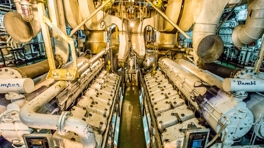 Main Engines on the Training Ship Golden Bear Cal Maritime Cylinder Head Cylinder Heads Diesel Engine Engine Room Engineering EngineRoom Exhaust Factory Golden Bear Hot Industrial Industrial Landscapes Industrial Photography Industry Machine Part Machinery Marine Engineer No People Semester At Sea Ship Ships Training Ship Training Ship Golden Bear