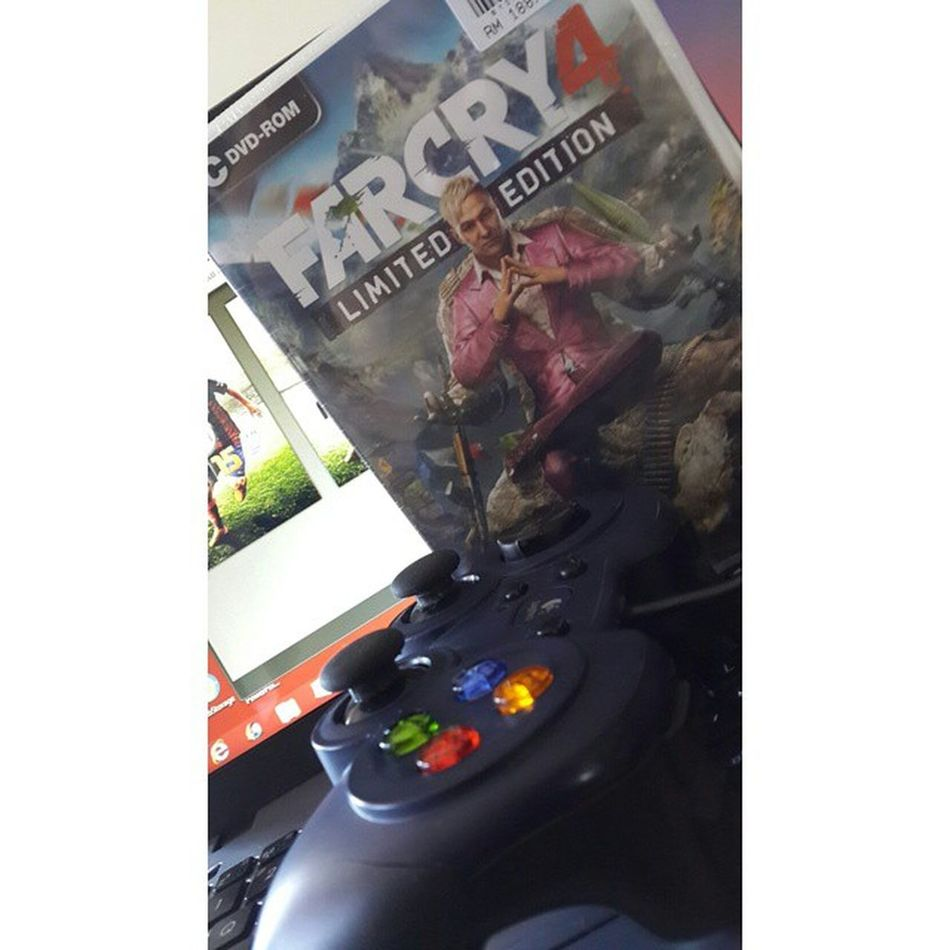 Aummm aummm.. ? far cry 4!!??!! ? Gamezone Ubisoft UPLAY Ecm capitalsmall kuantan MATArians farcry4 rcnocrop gamers asus