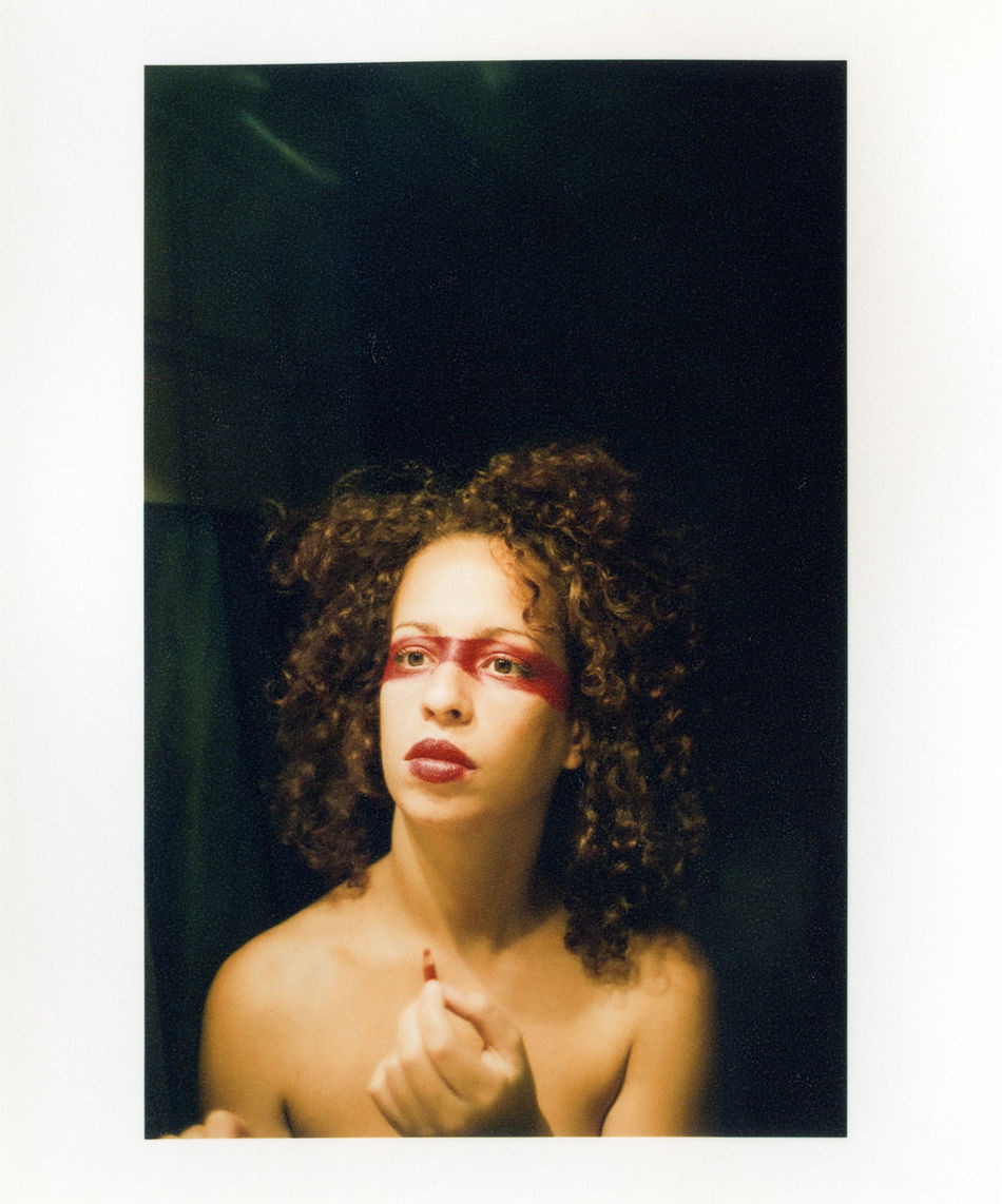 Analogic At The Mirror Black Eyes Blade Runner Conceptual Contemplation Curly Hair Showcase March Head And Shoulders Lips Lipstick Long Hair Looking At Camera Mirror Natural Light Person Portrait Portrait Photography Posing Red Head The Portraitist - 2016 EyeEm Awards Woman Woman Portrait Young