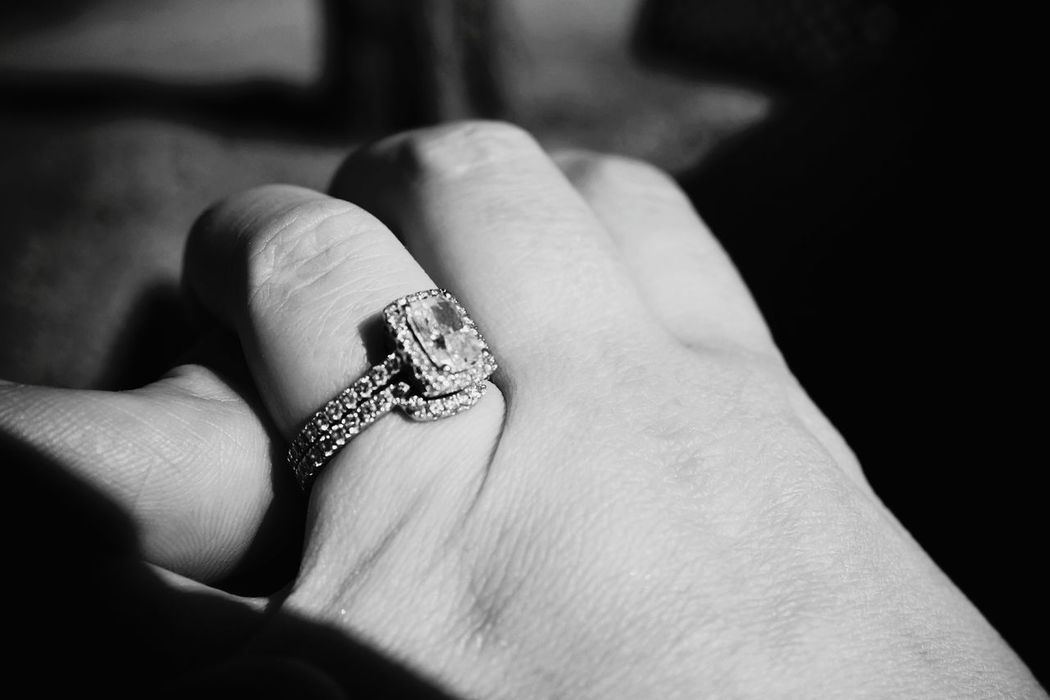 http://i.instagram.com/lioridiamonds/ B&w Film Monochrome B&w Photography From My Point Of View Diamond Ring Better Together Custom Jewelry B&W Portrait My Wife A Day In The Life