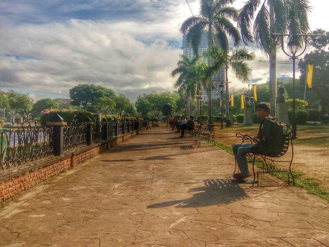 I love taking this photo because it presents how beautiful our national park is. Eyeem Philippines Leisure Activity Lunch Luneta Park Streetphotography Sunshine Urban The Street Photographer - 2016 EyeEm Awards