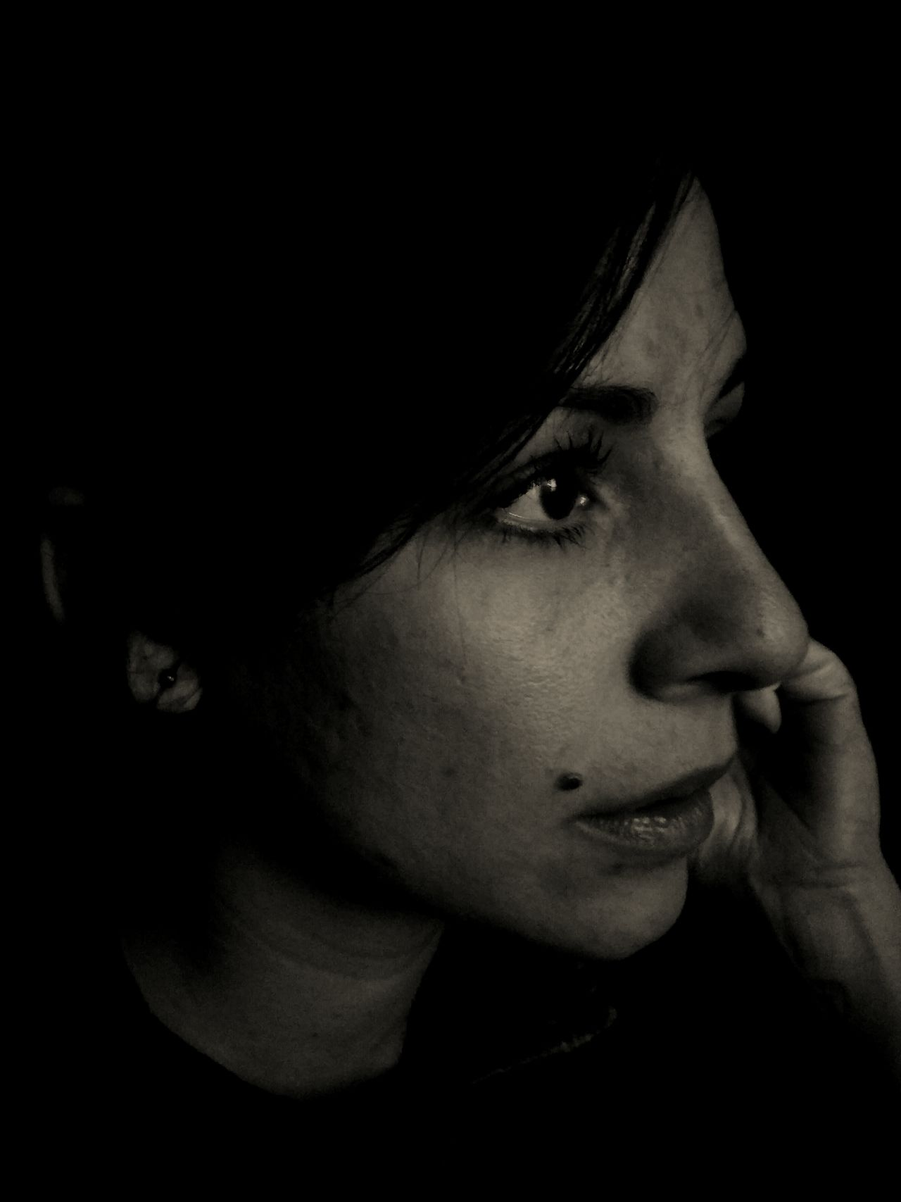 Portrait Portrait Photography Portrait Of A Woman Mobilephotography LGg3photography Darktones Moment