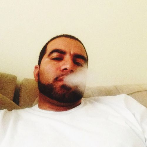 Enjoying Life That's Me Chilling smoking