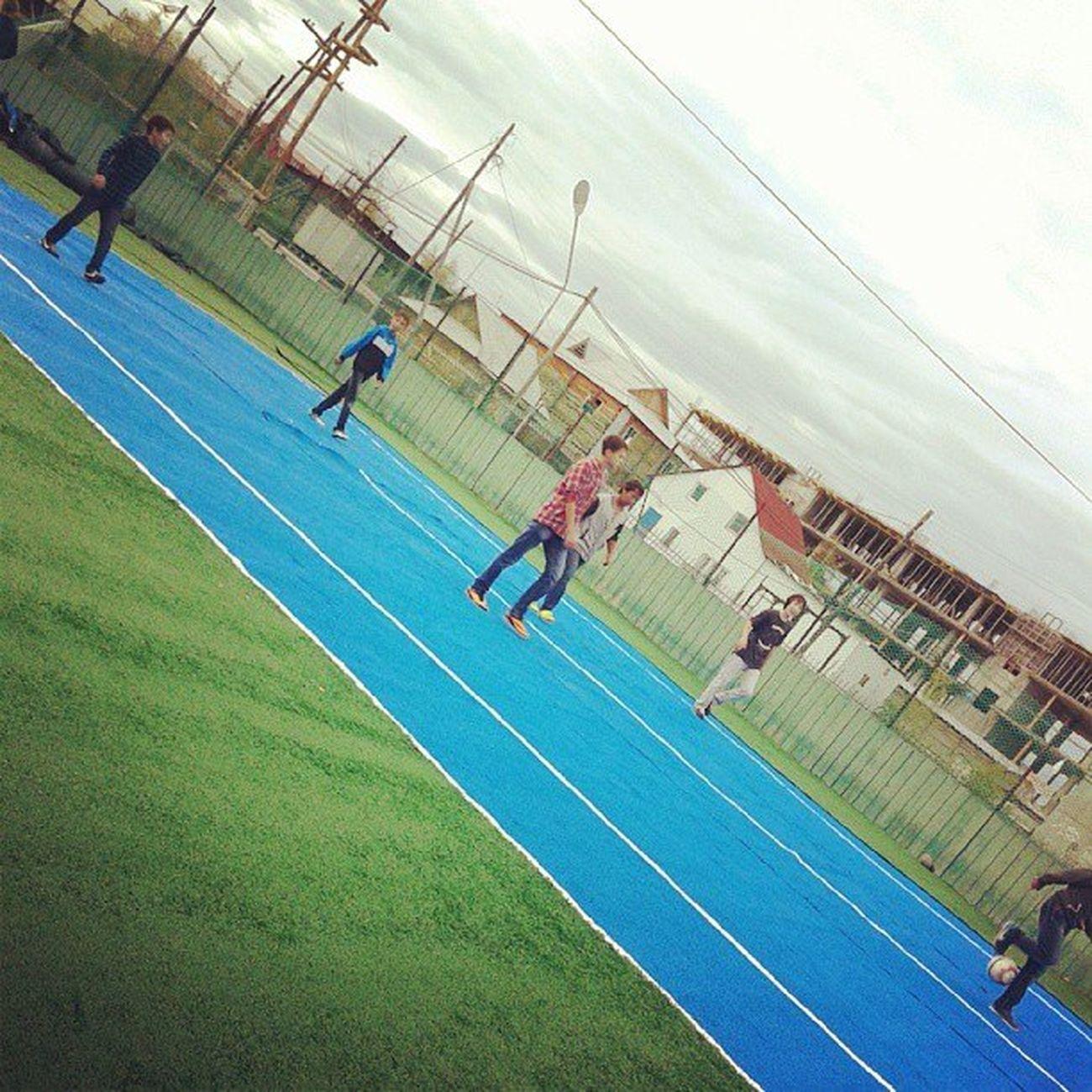 Лето 2013. Футбольное поле