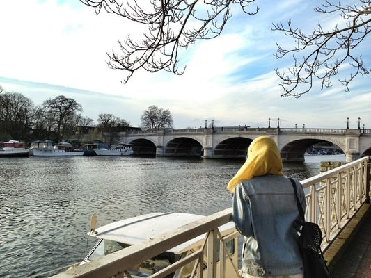 On a date at Kingston Upon Thames by Arif
