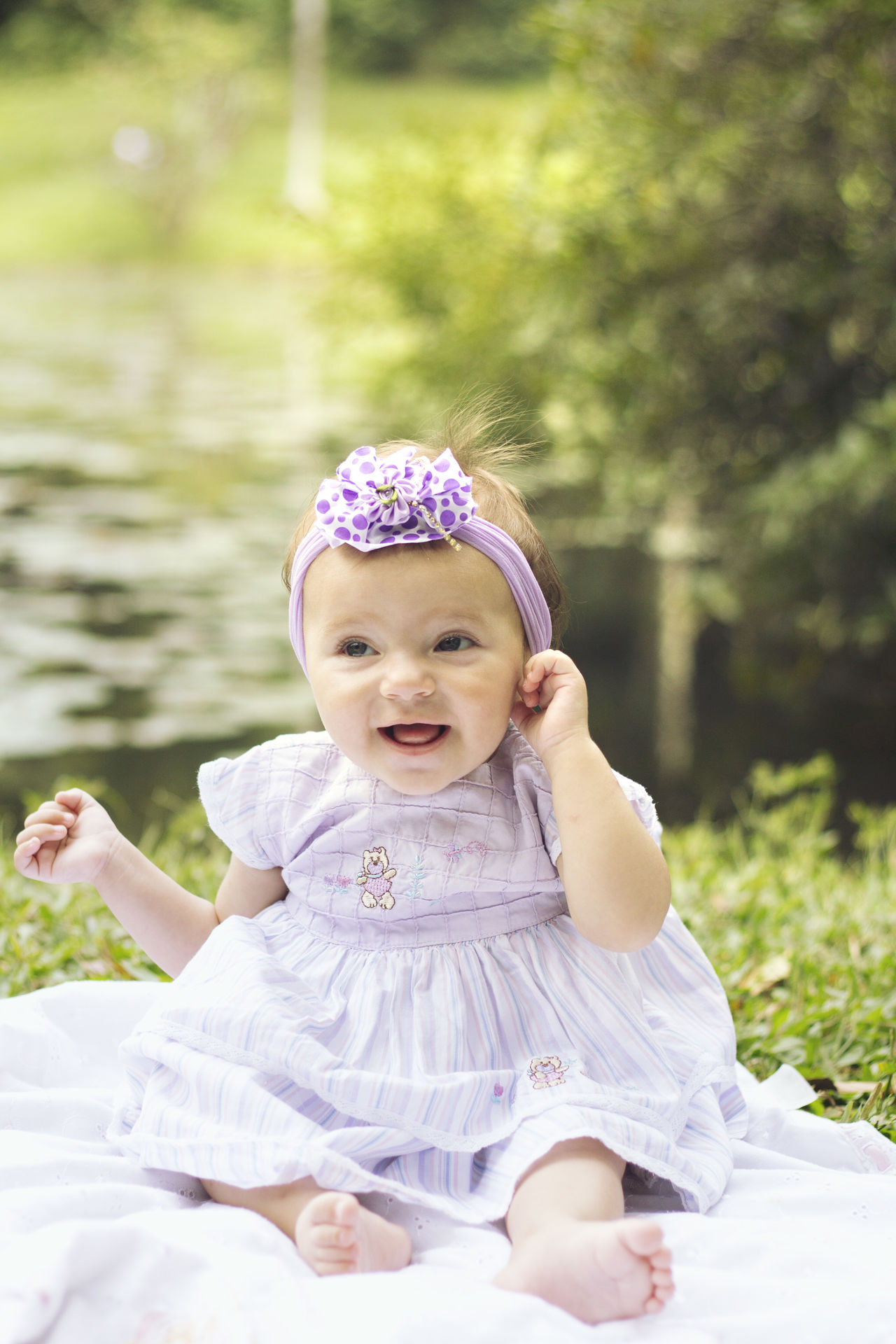 Children Photography Sweet Child Conected With Nature Getting Inspired