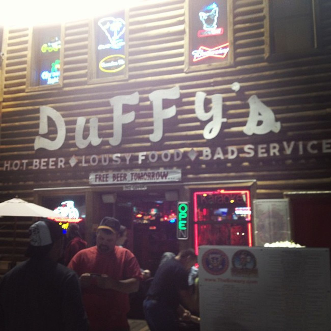 where our night begins. Duffys Myrtlebeach Duffysmyrtlebeach Drinks hotbeerlpusyservice