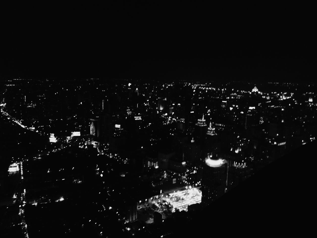 This city look like stars shining on thy skyWelcome To Black Cityscape Night Sky City No People Outdoors