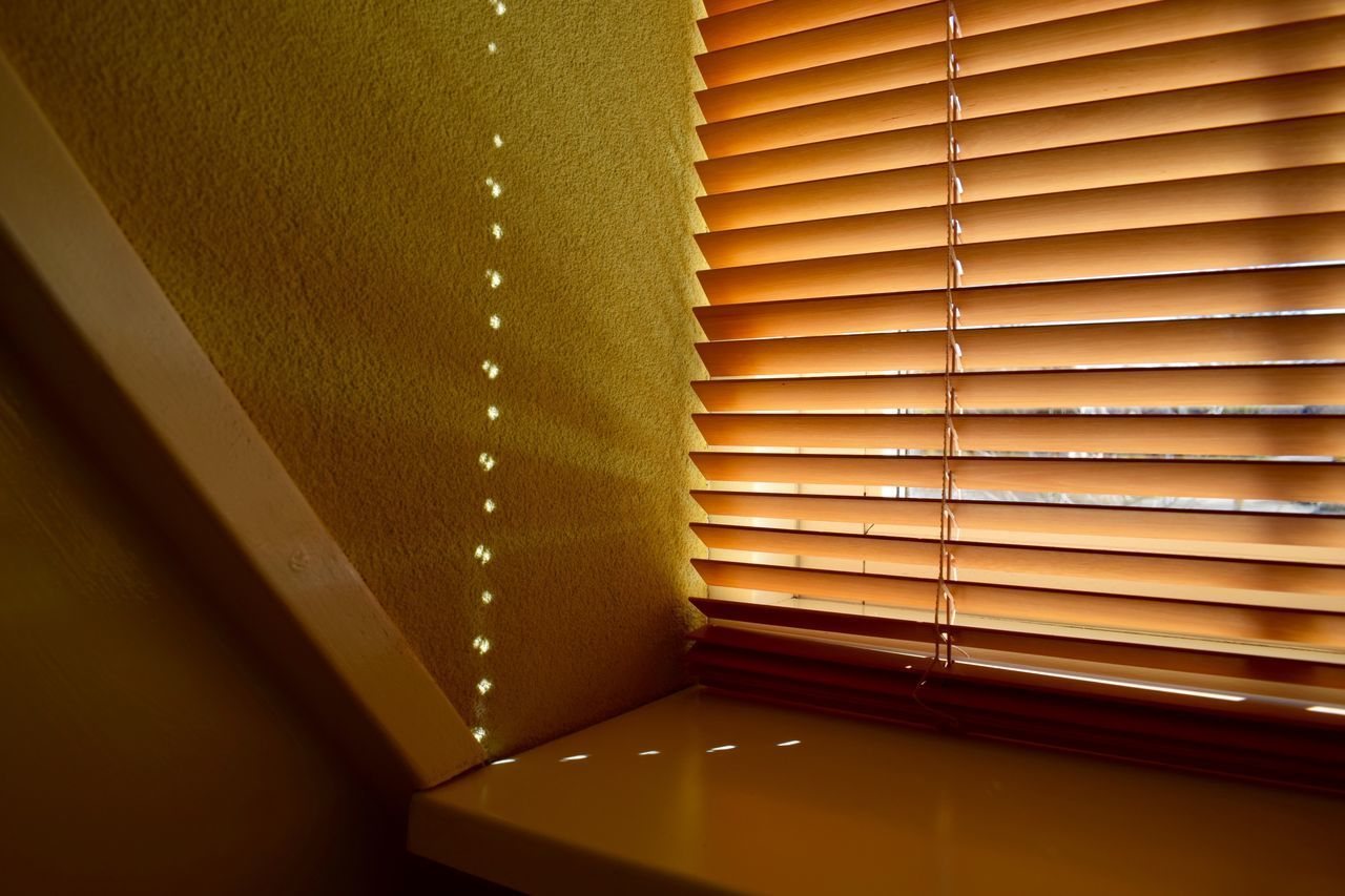 Abstract Architecture Bedroom Bedroom Light Bedroom View  Bedroom Wall Bedroom Window Blinds Blinds Shadows Close-up Dots Dots Everywhere Green Green Wall Indoors  Light Misterious No People Reflection Serene Outdoors Serenity Sun Warm Wood Wood - Material