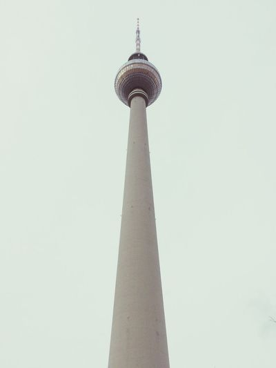 Berlin Tower Fernsehturm The Tourist TV Tower Space Needle