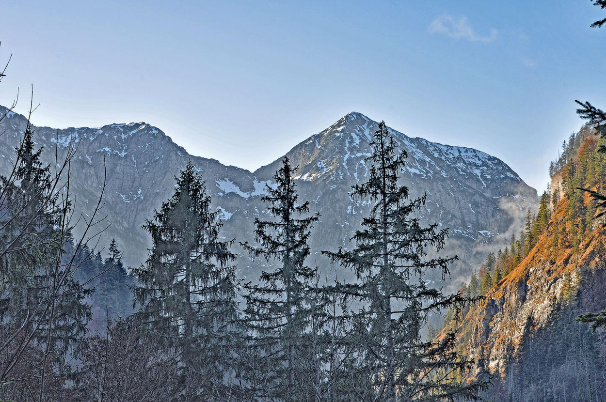 karwendel upper Isar valley Isar Valley Karwendel Karwendelblick Karwendelgebirge Upper Isar Valley