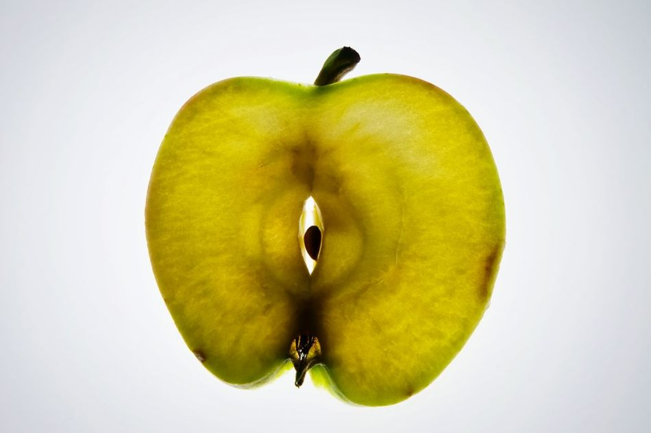 Beautiful stock photos of apple, Apple - Fruit, Cross Section, Cut Out, Food