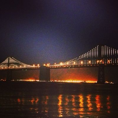 Bay Lights in San Francisco by septopus