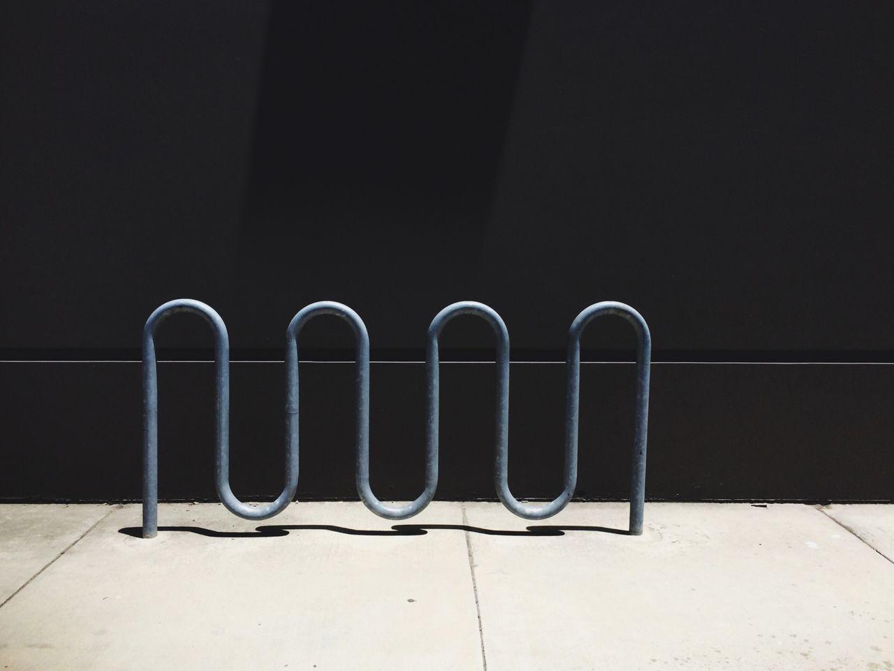 Parking Rack On Sidewalk