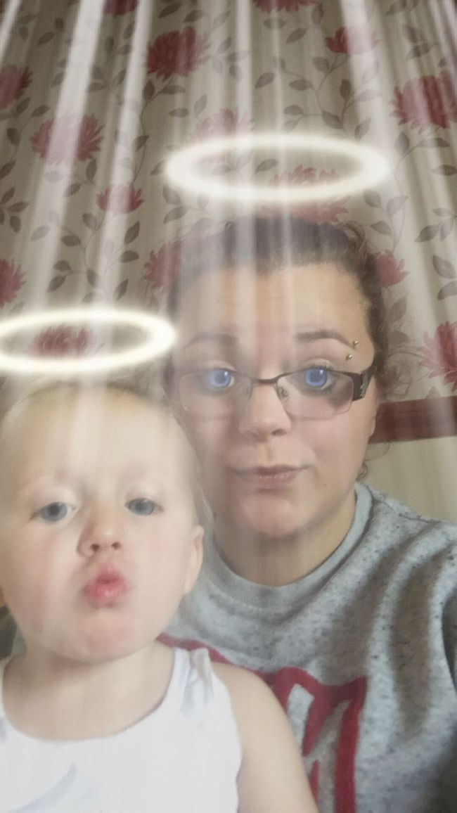 Playing With Pictures. Angels Cute Playing With Camera Playing With Effects Playing With Apps  Playing With Filters Pouting<3 Pouty Face Love ♥ Meandyou Loveher 2yearsold