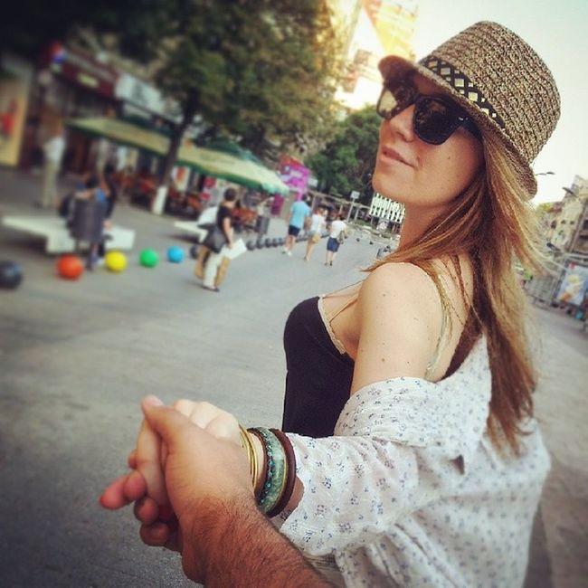 Followthegf @ilinca_p Romanian  Beautiful Blonde girlfriend lovebirds picoftheday instamood stoian.co.uk PiataRomana Bucharest Romania