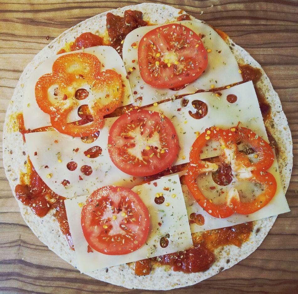 Pizza Wrap Tortilla Pizza Lunch