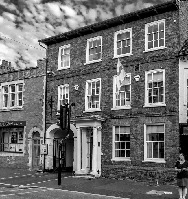 73 High Street, Newport Pagnell, Buckinghamshire Architecture Buckinghamshire High Street Black And White Monochrome Newport Pagnell