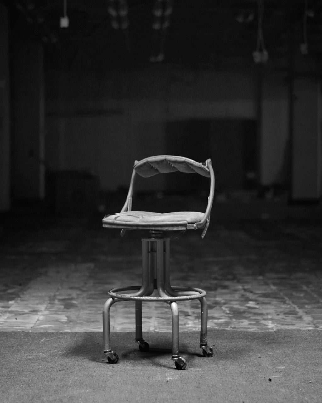 indoors, focus on foreground, chair, no people, day