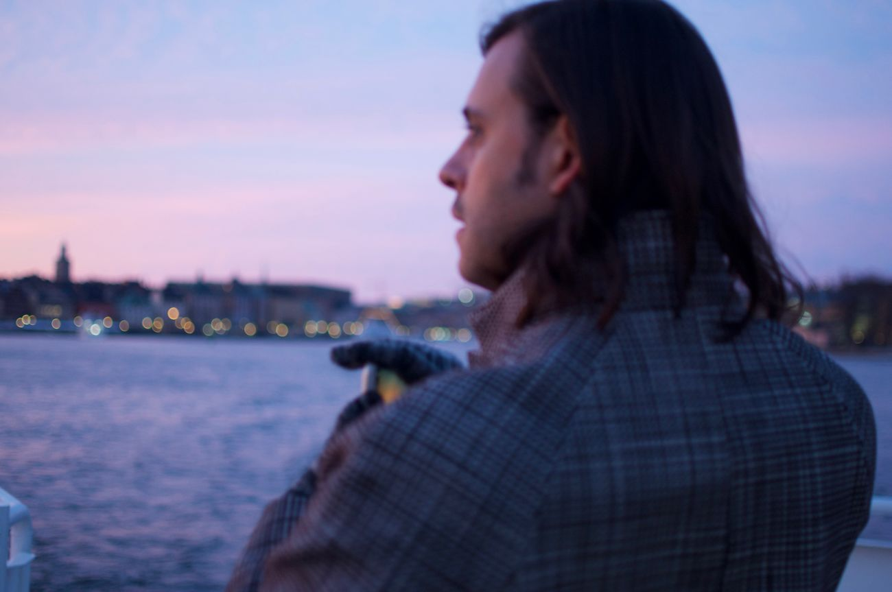 On the Djurgården ferry.