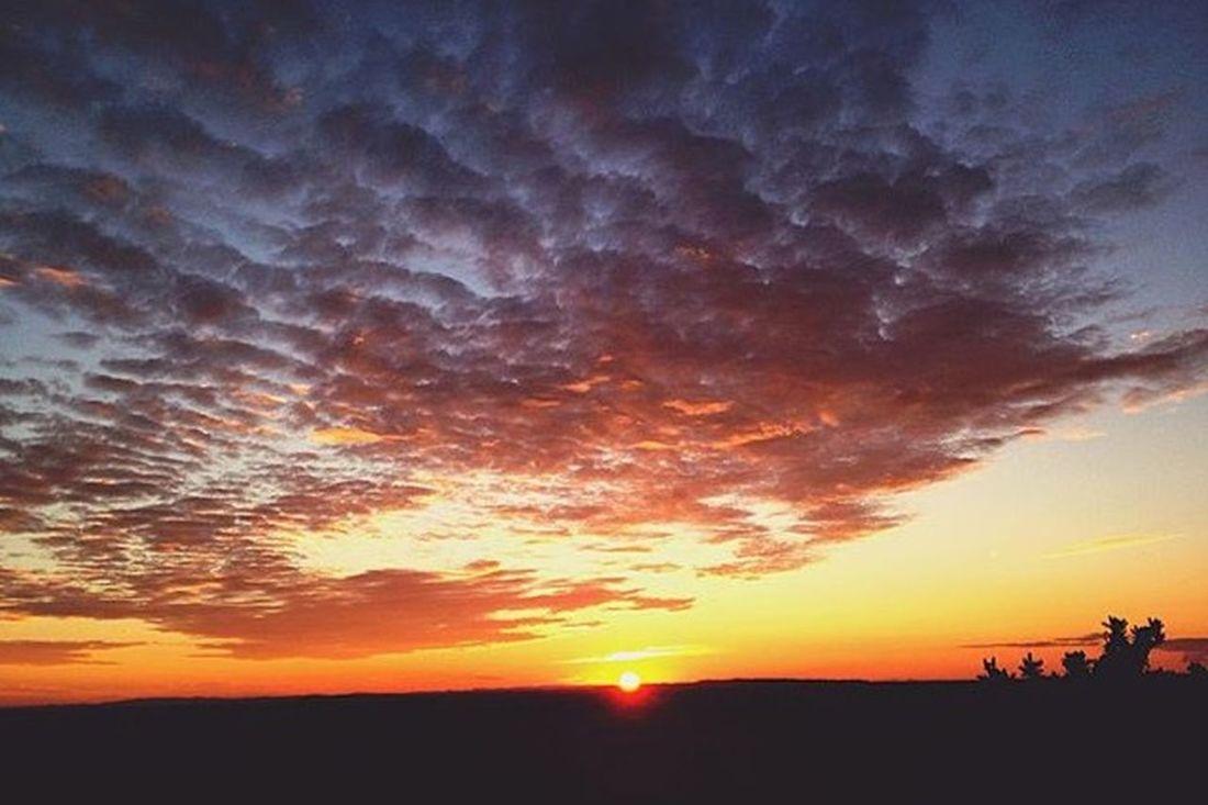 Sunset Walking Around Lilleshall