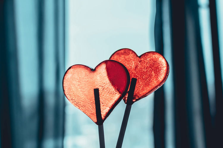 couple Abstract Colorful Couple Creativity Heart Home Indoors  Love Love ♥ People People Of EyeEm Red Sugar Sweet Sweets Tasty Together Togetherness Valentine Valentine's Day  We