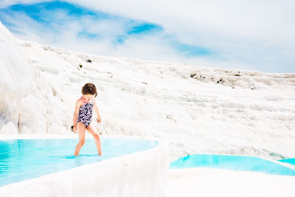 My kid at Pamukkale Full Length Beauty In Nature Vacations Mountain Children Only Nature Child Outdoors Childhood Pamukkale Pamukkale/Turkey Turkey Turkey Pamukkale Turkey ♡