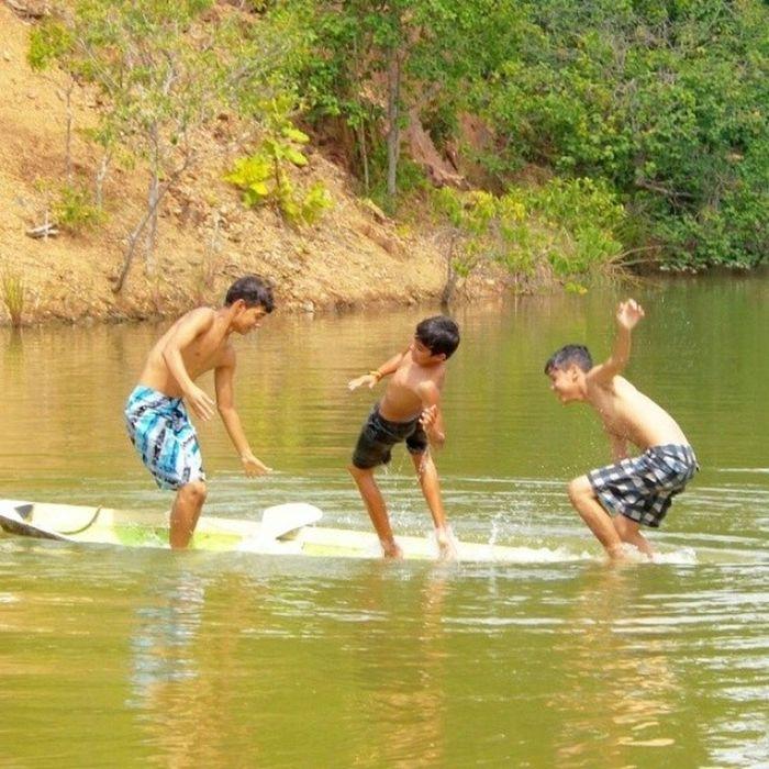Se a canoa não virá.8 Finaldesemana Açude Refugio Lago DiversãoTopManosZamizades