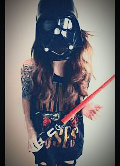 Usa la fuerza del lado oscuro