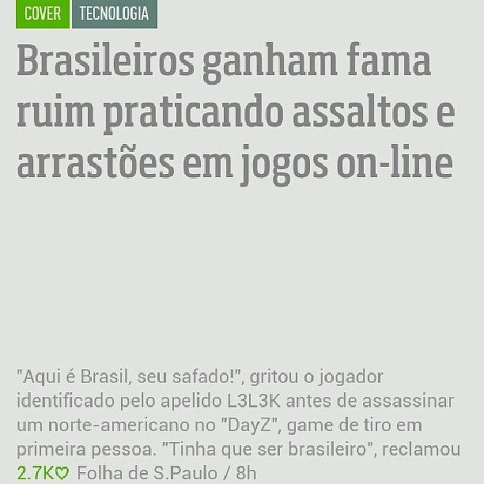 Arrastão até em jogo online !.!.. ComoAssim Brasil ???? Vergonhaalheia Mode On