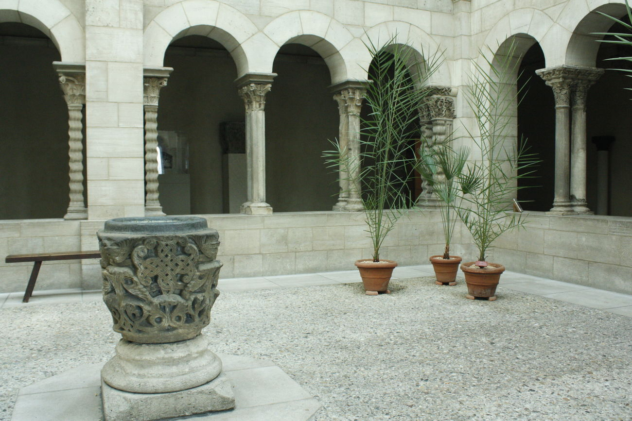 Architectural Column Architecture Art Building Exterior Built Structure Cloister Day Fountain Museum No People Outdoors