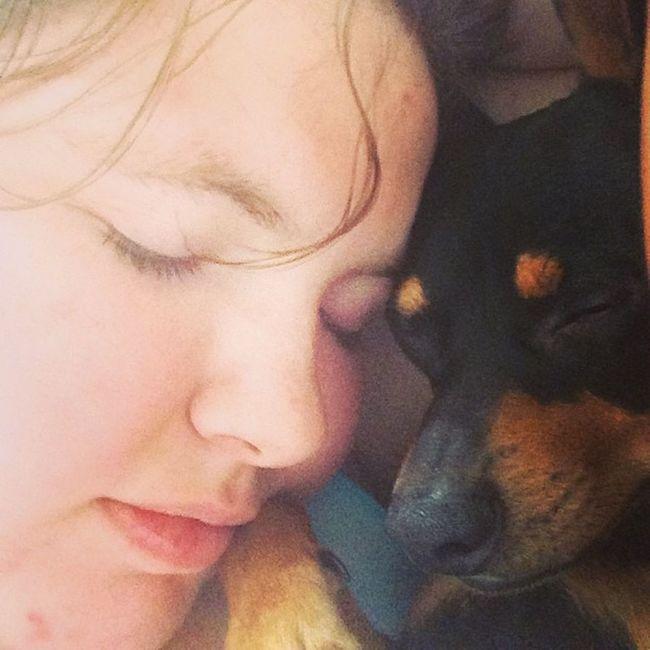 Mommynbaby Squishy Saturday Sleepeez sleeping sleepyhead hunter minpin chihuahua terriermix mililani hawaii whitegirl sleepinbydaddy mommynbaby
