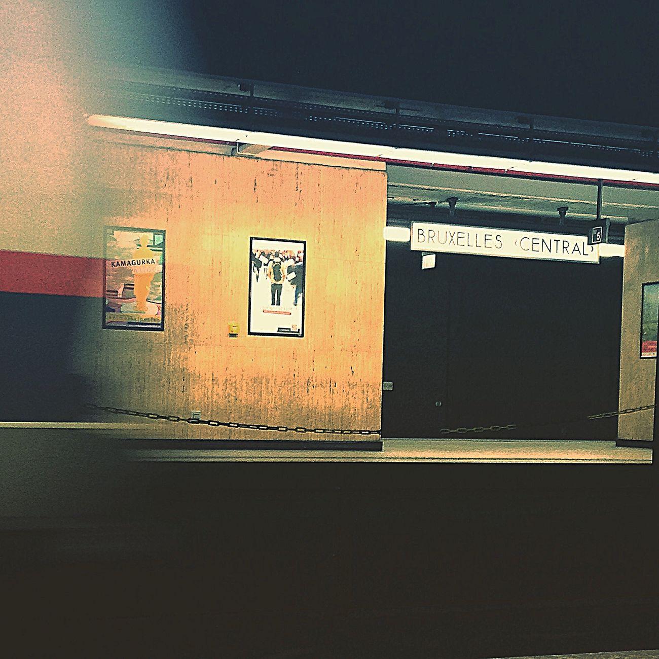 Bxl Brussels Trainstation Train