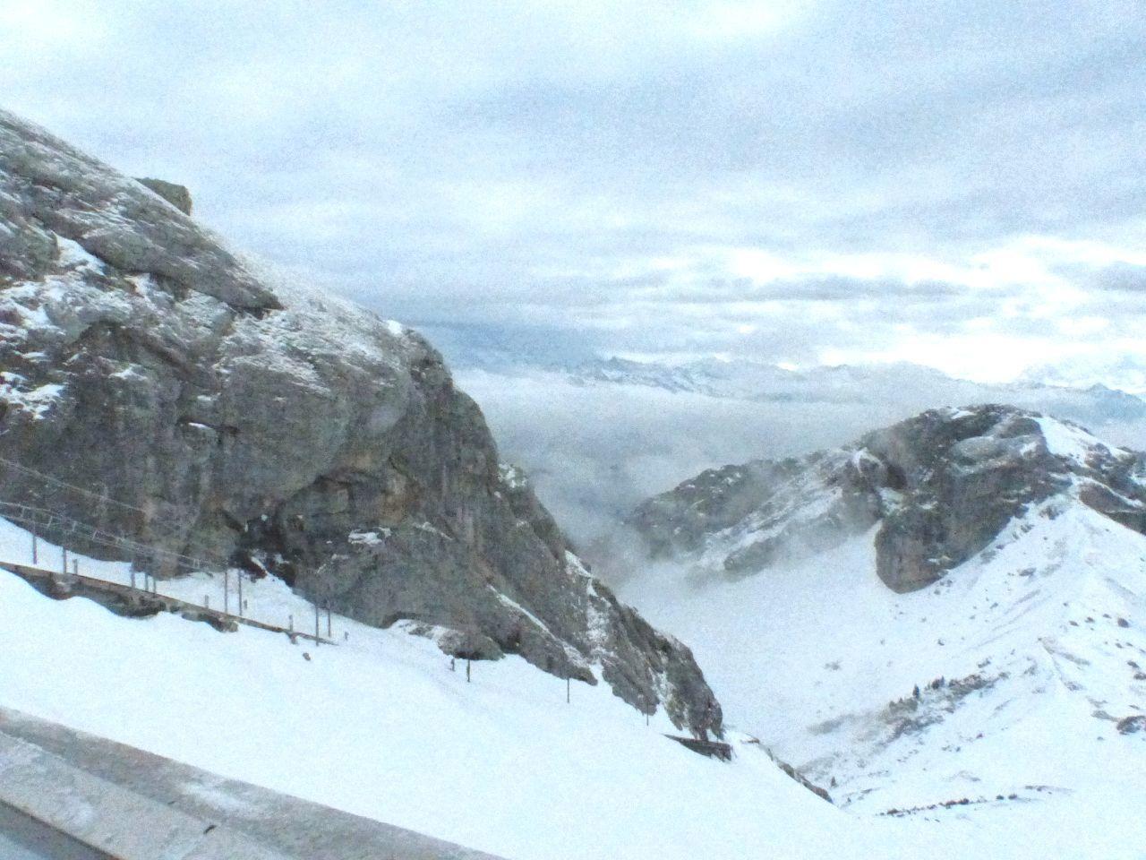 Pilatus Heikobo Januar2014 Luzern Schweiz Alpen