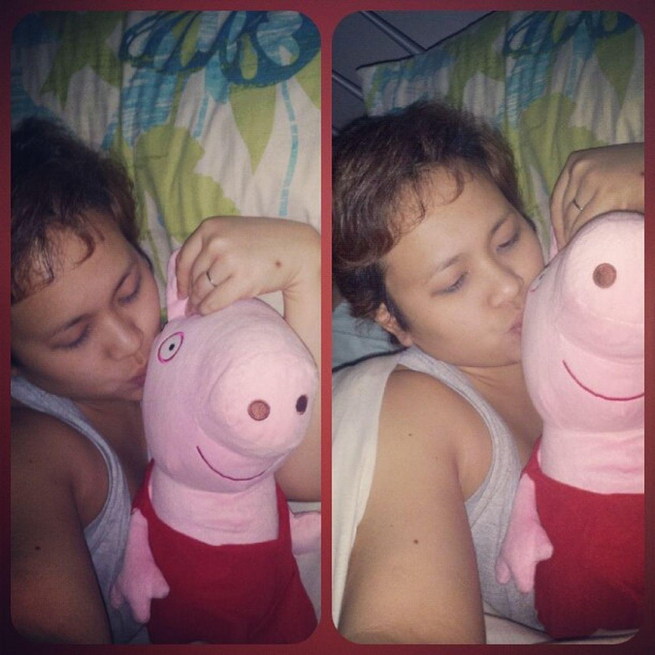 As soon as my son is asleep I steal Peppa Pig. Peppapig Bigkid  Sleepy Time Friday