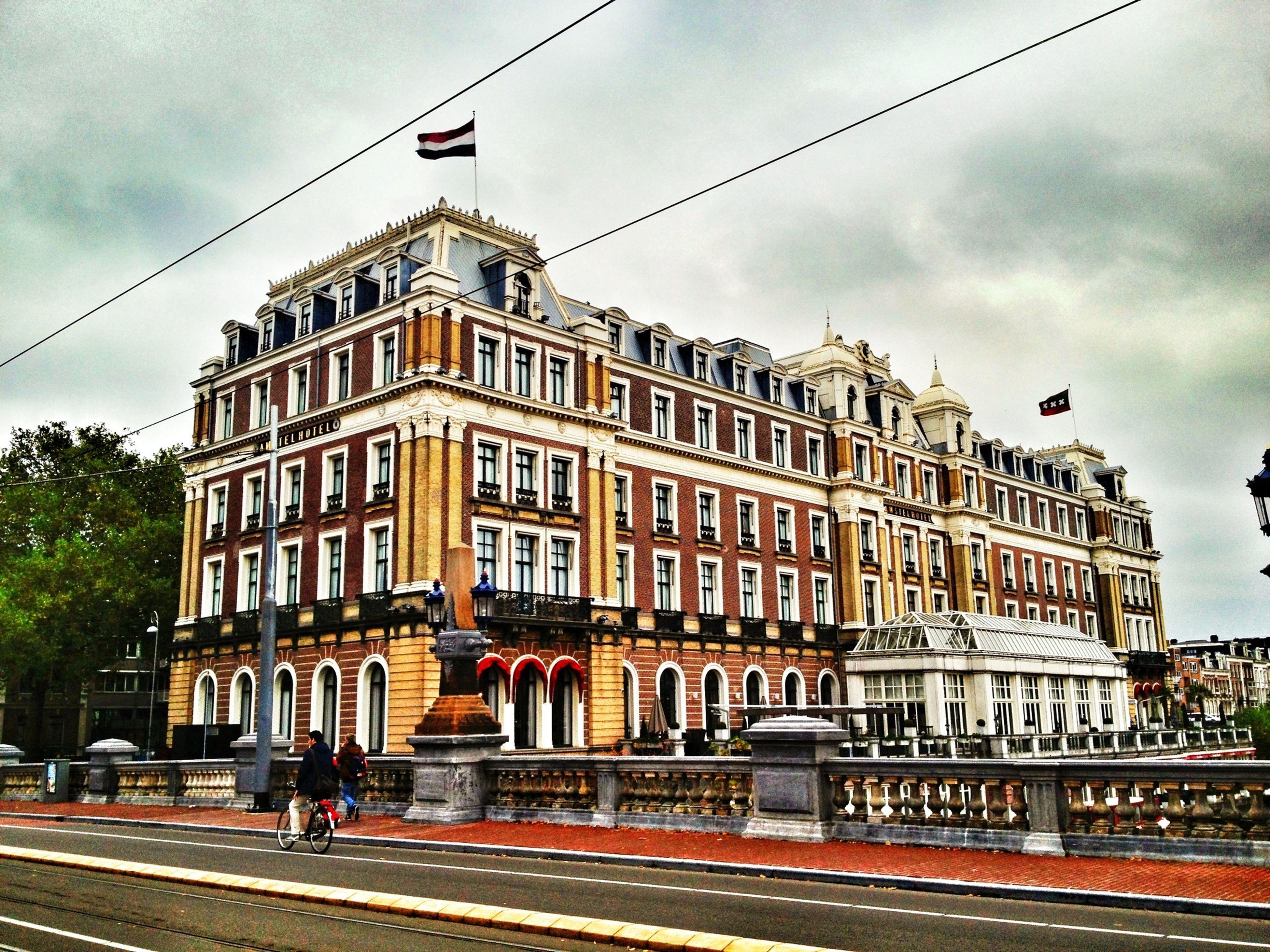 Amstel Hotel where John Lennon and Yoko Ono had their Love-in