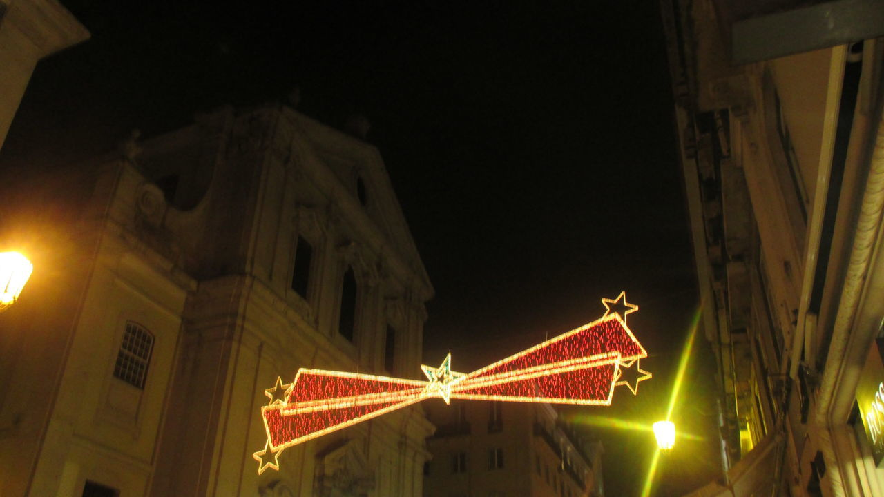 Architecture Architecture Building Exterior Built Structure Catholic Church Celebration Christmas Christmas Atmosphere Christmas Card Christmas Decoration Christmas Lights Christmas Market Church Illuminated Low Angle View Nght Lights Night No People Old Building  Ornament Ornament Hanging Outdoors Red Lights,snake Bites Yellow Lights