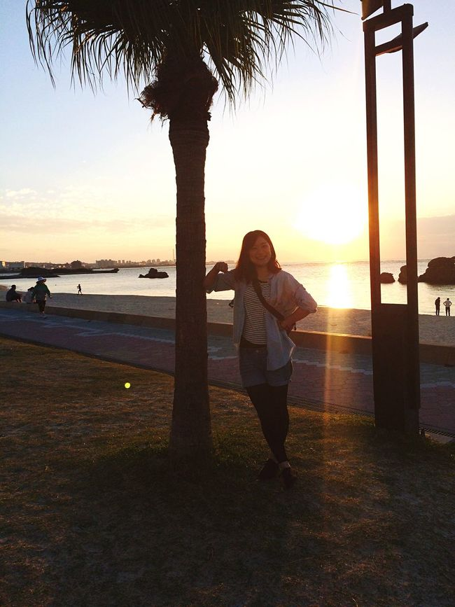 Sunset アラハビーチ Okinawa