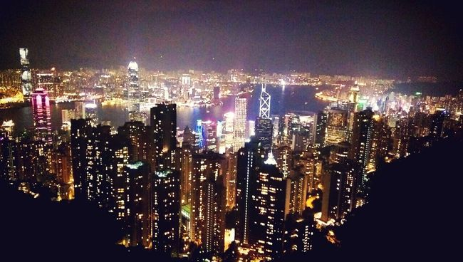 the most Spectacular View in HongKong that I ❤️ :)