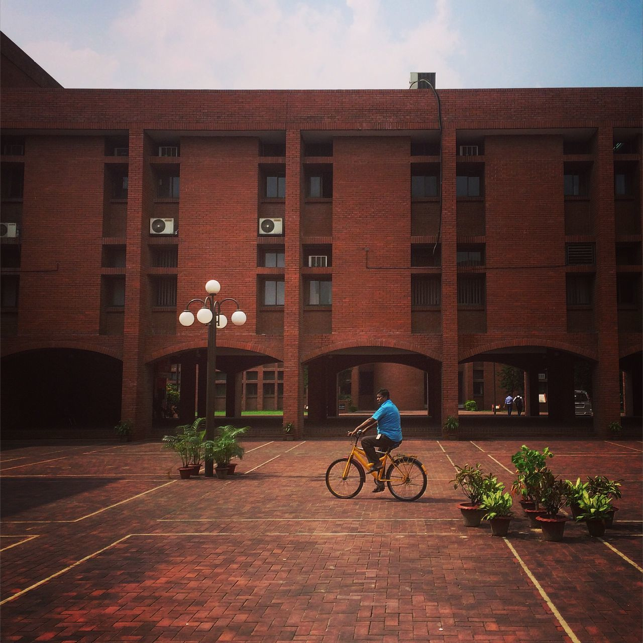 Was there Iut University Campus Architecture Architecture_collection Man Cycling Red Yellow EyeEm Best Shots Dhaka, Bangladesh Bangladeshi EyeEm Bangladesh Bangladesh Iphoneonly