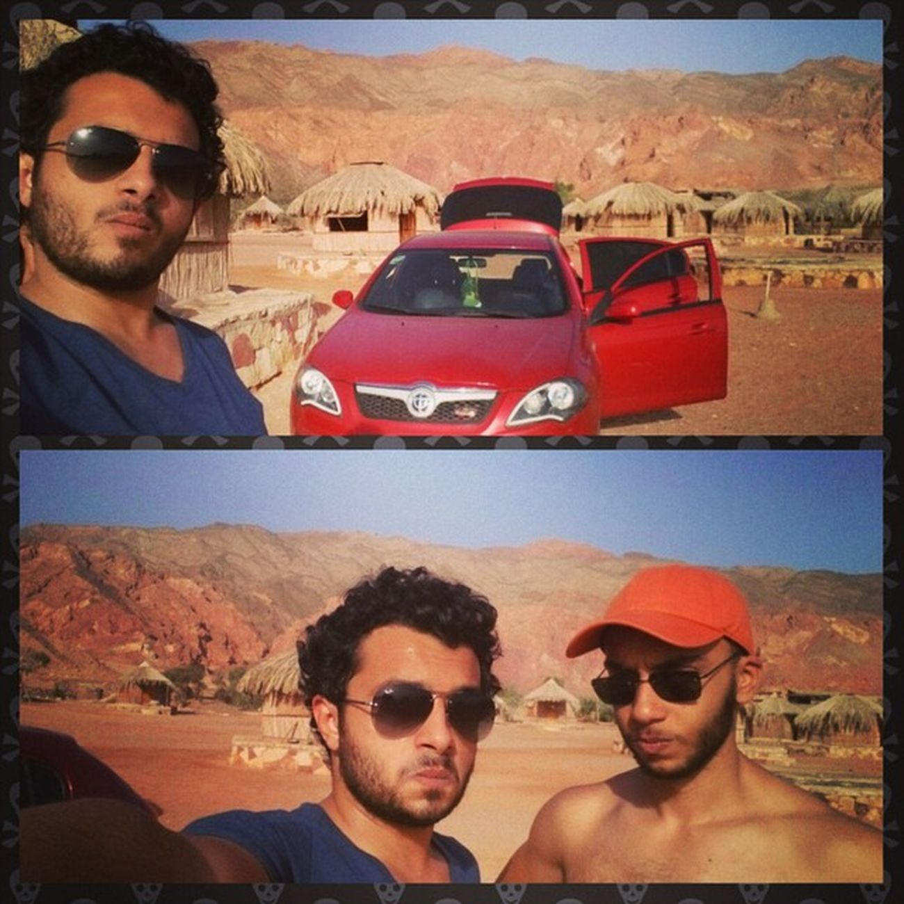 Selfie El_wada3 Leaving Sadness end vacation redsea sea sinai car brilliance fun friends