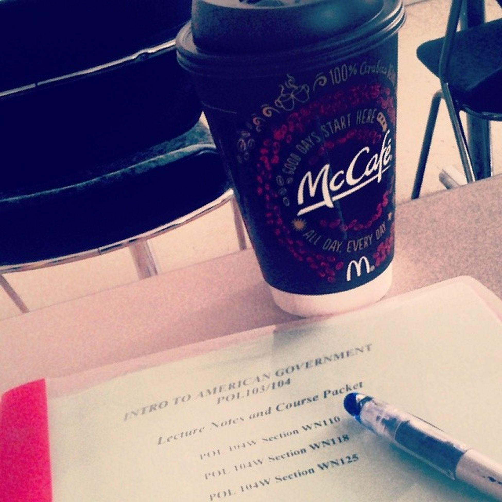 McCafe College Pospol Uhg thisclassucks