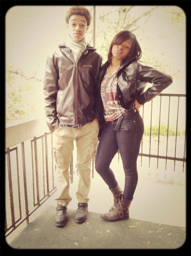 me and darric
