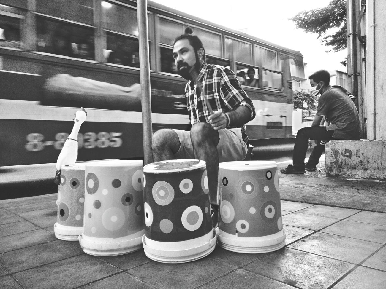 Streetphotography Streetlife Drums Drumskills Streetdrums Lifestyle Bkk Thailand