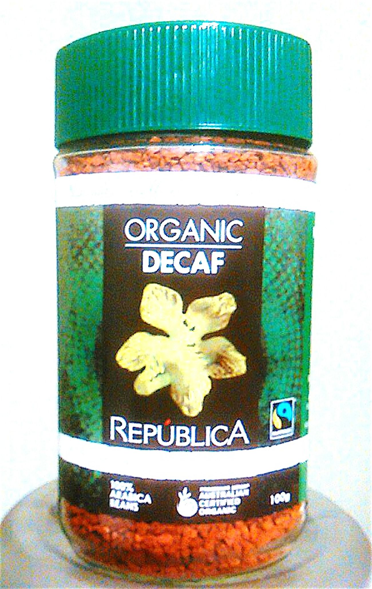 República  Organic Decaf Coffee Caffeine Free OrganicmarketCaffeineFree Decaf